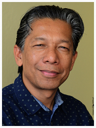 New Development Director, Allan S. Manalo (photo by Leslie Rabine)